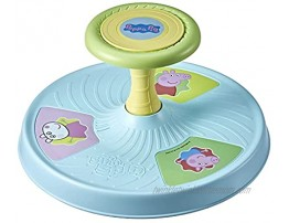 Playskool Peppa Pig Sit 'n Spin Musical Classic Spinning Activity Toy for Toddlers Ages 18 Months and Up  Exclusive