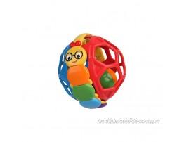 Baby Einstein Bendy Ball Rattle Toy Ages 3 months +