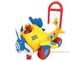 Sesame Street Elmo's Activity Plane Yellow
