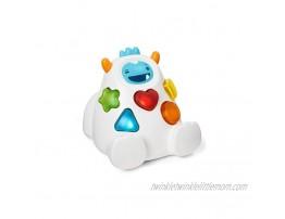 Skip Hop Developmental Learning Shape Sorter 3-Stage Spinning & Sorting Toddler Toy Explore & More Yeti