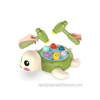 Whack a Mole Activity Game Early Development Montessori Toy Arm Strength Training Baby Interactive Fun Hammer Toy Gift for Kids Age 2,3 4 5 6