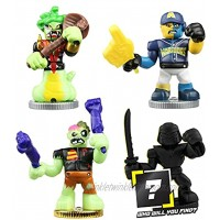 Akedo Ultimate Arcade Warriors Warrior Collector 4 Pack 3 Mini Battling Action Figures: Miss Slither & Deadbreath and one Hidden Mini Battling Action Figure! Multicolor 14250