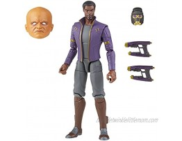 Marvel Legends Series 6-inch Scale Action Figure Toy T'Challa Star-Lord Premium Design 1 Figure 3 Accessories and Build-A-Figure Part