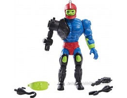 Masters of the Universe Origins Trap Jaw 5.5-in Action Figure Battle Figure for Storytelling Play and Display Gift for 6 to 10-Year-Olds and Adult Collectors