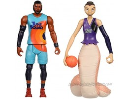 SPACE JAM: A New Legacy 2 Pack On Court Rivals Lebron & White Mamba