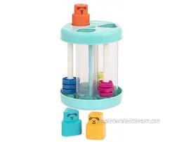Battat – Shape Sorter – Colorful Sorting Toy – 3 Shapes & Sounds – Educational & Developmental Toy for Toddlers – Shapes & Sound Sorter – 18 Months +