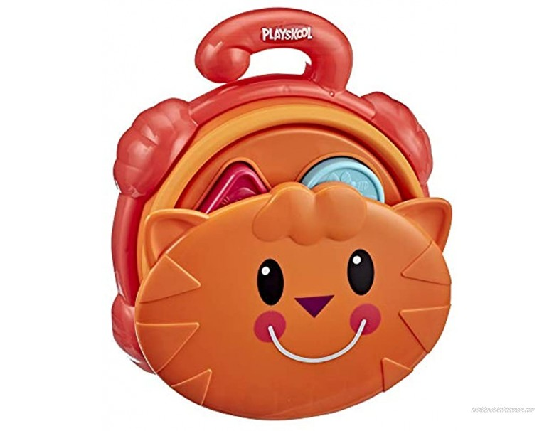 Playskool Pop Up Shape Sorter Toy for Toddlers Over 18 Months with Take-Apart Shapes for Matching Collapsible for Storage Exclusive