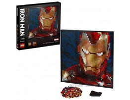 LEGO Art Marvel Studios Iron Man 31199 Building Kit for Adults; A Creative Wall Art Set Featuring Iron Man That Makes an Awesome Gift New 2020 3,167 Pieces