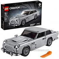 LEGO Creator Expert James Bond Aston Martin DB5 10262 Building Kit 1295 Pieces