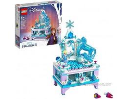 LEGO Disney Frozen II Elsa's Jewelry Box Creation 41168 Disney Jewelry Box Building Kit with Elsa Mini Doll and Nokk Figure for Creative Play 300 Pieces