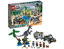 LEGO Jurassic World Baryonyx Face Off: The Treasure Hunt 75935 Building Kit 434 Pieces