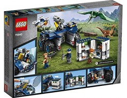 LEGO Jurassic World Gallimimus and Pteranodon Breakout 75940 Dinosaur Building Kit for Kids Featuring Owen Grady Claire Dearing and ACU Trooper Minifigures for Creative Play 391 Pieces