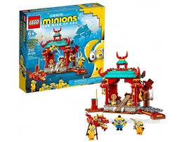 LEGO Minions: Minions Kung Fu Battle 75550 Toy Temple Building Kit for Kids a Great Present for Kids Who Love Minions Toys and Kevin and Stuart Minion Toy Figures New 2021 310 Pieces