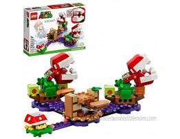 LEGO Super Mario Piranha Plant Puzzling Challenge Expansion Set 71382 Building Kit; Unique Toy for Creative Kids New 2021 267 Pieces