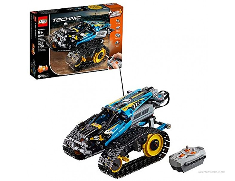 LEGO Technic Remote Controlled Stunt Racer 42095 Building Kit 324 Pieces