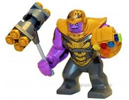 Avengers Lego Marvel Superheroes Endgame Thanos 76131 Mini Fig Minifigure