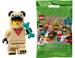 Lego 71029 Collectable Minifigures Series 21 Pug Costume Guy