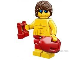LEGO Series 12 Collectible Minifigure 71007 Lifeguard Guy