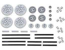 LEGO 46pc Technic gear & axle SET Works with Mindstorms NXT EV3 Bionicles and more LEGO creations!