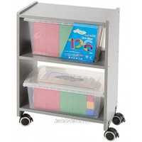 UNiPLAY Organizer and Storage Rolling Cart — Arts and Crafts Office Supplies School Supplies Soft Building Blocks Toy Storage 18.8 x 11.8 x 26.2 inches