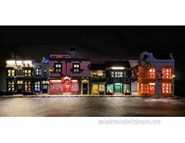 Brick Loot Deluxe LED Light Kit for YOUR LEGO Harry Potter Diagon Alley Set 75978 NOTE: The Model is NOT Included