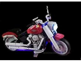 brickled LED Lighting Kit for Lego Creator Expert Harley-Davidson Fat Boy 10269 Lego Set not Included