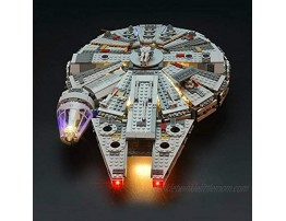 brickled Lighting kit for Lego Millennium Falcon 75105  Lego Set not Included Compatiable with 75257