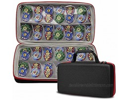TPCY Toys Storage Case Compatible with Beyblades and Small Dolls,Double Storage.CASE ONLY