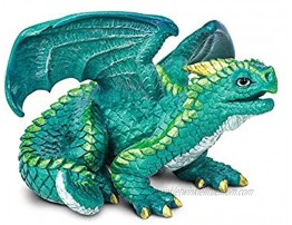 Safari Ltd. Juvenile Dragon – Realistic Hand Painted Toy Figurine Model – Quality Construction from Phthalate Lead and BPA Free Materials – For Ages 3 and Up