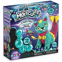 The Orb Factory Orbmolecules Merkitty Never Dries Compound Aqua Pink Yellow 9.44 x 3.44 x 8.44-Packaging May Vary