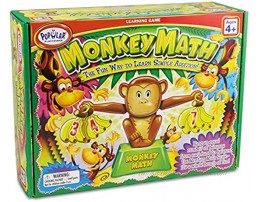 Monkey Math Game Simple Addition Game for Kids