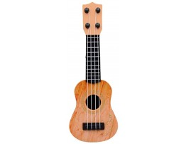 Hi Collie 2592.7cm Plastic Kids Toy Classical Ukulele Guitar Musical Instrument Beige Yellow Brown? Yellow