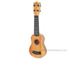 YoJiSa Ukulele Toy for Kids Beginner Classical Ukulele Guitar Educational Musical Instrument Toy 4 Strings Mini Guitar Children Guitar Beginner Educational Learning Toy