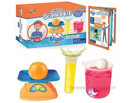 Blippi My First Science: Sink or Float Science Kit with Physics Experiments Educational Science Lab for Kids Mind-Blowing Toddler Preschool Science Experiment Toys Set for Boys and Girls Ages 3+