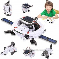 Coodoo Robots for Kids 8-12 Stem Projects 7 in 1 DIY Solar Power Space Science Kits Toys for Boys 8 12 Year Old