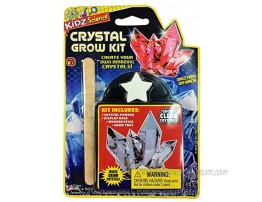 JA-RU Grow a Crystal Kit 1 Pack by 2GoodShop Toy | DIY Science Kit for Kids Growing Crystals Party Favor Pinata Filler Toys | Item #5423-1B