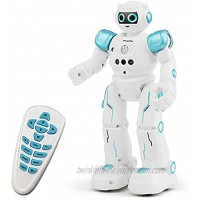 Threeking New Rc Robot Toys Gesture Sensing Touch Control Remote Control Programmable Robot Toy for 6+ Years Old Kids Birthday Present Gift