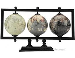 Rely+ Decorative World Traveler Globe. Decorative Table Top Globe Decorative World Globes for Home Decor