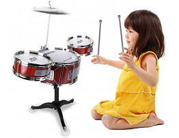 Chilartalent Kids Drum Set Toy Small Plastic Drum Set for Toddlers 1 5 Years Old Boys Girls Musical Instruments Playing Beats Toys