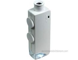 Hydrofarm AEM60100 60x-100x Active Eye Illuminated Microscope White