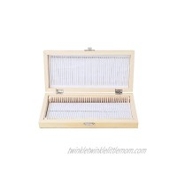 Microscope Slide Box Large-capacity Biological Slide Storage Box Wooden Storage Box for Slice Collection