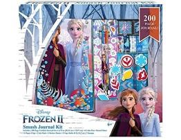 Disney Frozen 2 Journal Elsa and Anna Smash Journal Kit