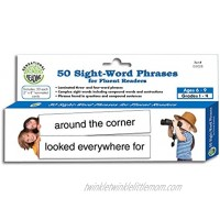 Essential Learning Products 50 Sight-Word Phrases for Fluent Readers Aid 8 x 2 Inches