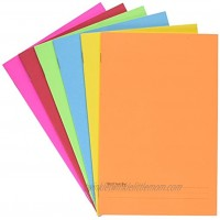 Hygloss Products-77006 Paperback Blank Story Books for Children Write & Illustrate Stories Great Activity for Classroom Home & More 6 Vibrant Colors 5.5 x 8.5 Pack of 6 Assorted Colors