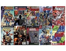 KerSplat! Comics Marvel AVENGERS 25 Comic Pack Bundle