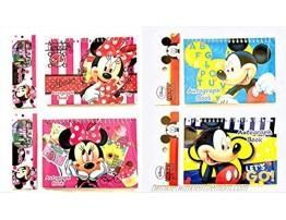 Party Favors Disney Mickey Mouse and Minnie Autograph Note Pads Book- 2 Pieces Assort Mickey & Minnie