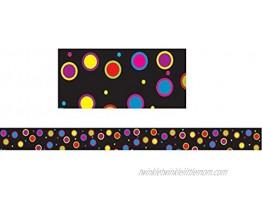 ASHLEY PRODUCTIONS Color Dots Magnetic Magi-Strip 12 Piece 3 4 x 12