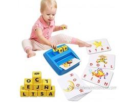 Spelling Games for Kids Ages 4-8 Kids Games Simple Fun Educational Toy for Preschooler & Kindergarten Kids