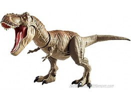Jurassic World Bite 'n Fight Tyrannosaurus Rex in Larger Size with Realistic Sculpting Articulation & Dual-Button Activation for Tail Strike and Head Strikes Ages 4 and Older