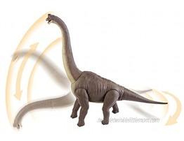 Jurassic World Brachiosaurus Figure: 28-inches High and 34-inches Long 71.12 cm x 86.36 cm with Authentic Sculpting Articulation Color & Texture Multicolor